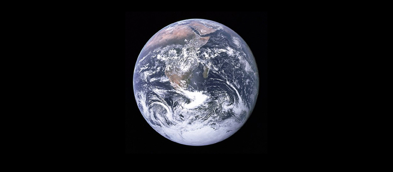 The Blue Marble – compliments of NASA