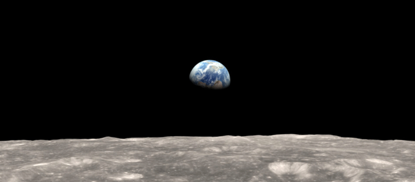 Earthrise – compliments of NASA