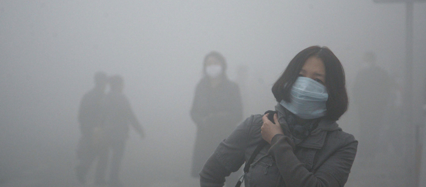 Street level air pollution