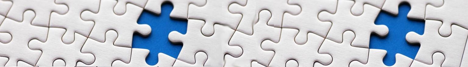 Puzzle Pieces Banner